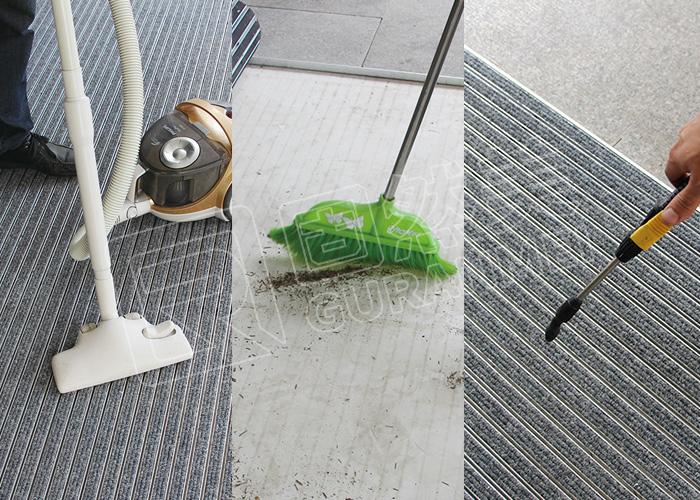 铝合金地垫清洁保养