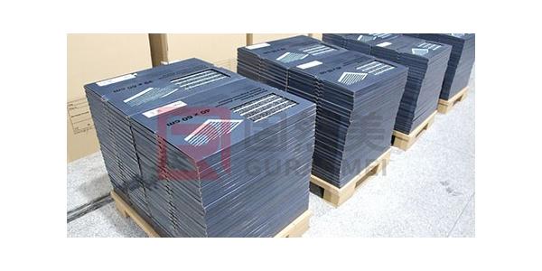 出口欧洲的几千片铝合金地垫发货