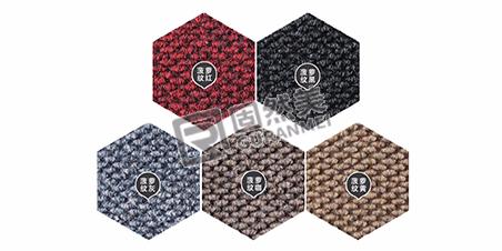 不同价格铝合金地垫毯面的对比