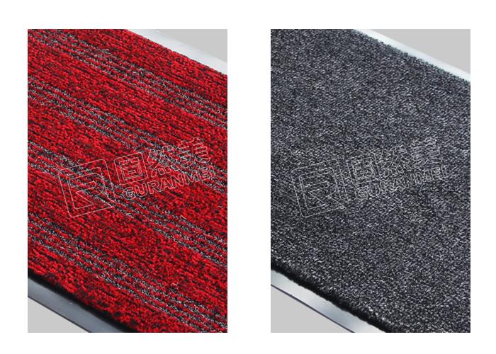 铝合金地垫毯面