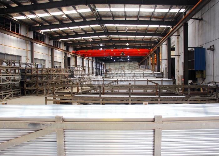 铝型材生产车间